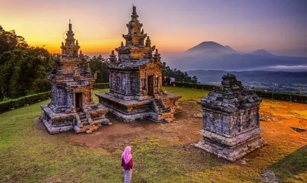 Pemandangan-Serta-Keindahan-Wisata-Candi-Gedong-Songo